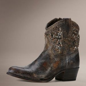 Frye Beaded Deborah Studded Boots